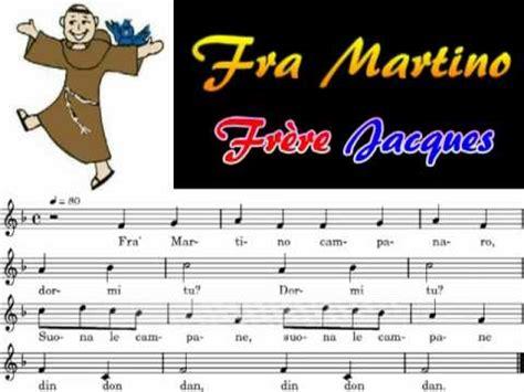 testo fra martino fra martino frere jaques harmonica