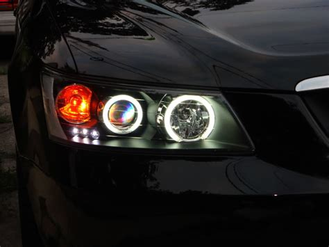 2006 Hyundai Sonata Headlight Bulb Led Halo Projector Headlights Installed Page 2 Hyundai