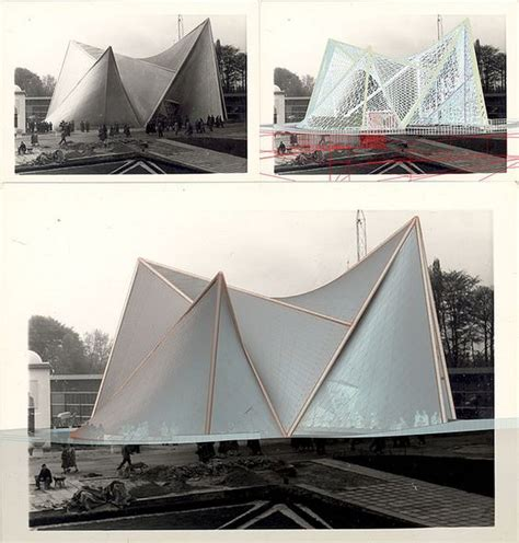 pavillon philips xenakis philips pavilion 1958 match le corbusier