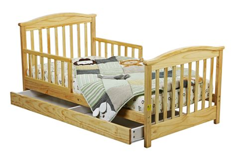 toddler bed with storage drawer dream on me mission collection style toddler bed with