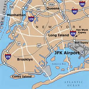 New York Airports Map by New York Airports Map Images