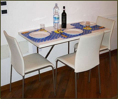 wall mounted kitchen table diy home design ideas