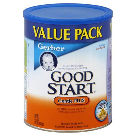 good start comfort gerber good start gentle plus infant formula milk based