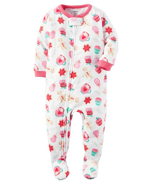 fleece pajamas for toddlers s infant toddler fleece footed pajamas