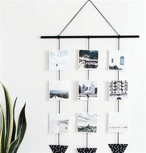 creative ways to hang pictures without frames ways to hang photos without frames my web value