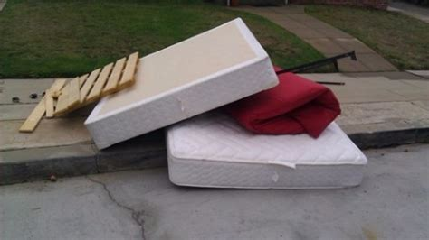 Recycle Mattress For Money by Top 10 Junk Removal Requests Mattress Removal Fred S