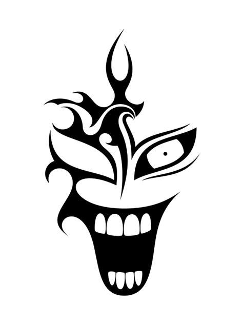 clown tattoo by nunodias on deviantart