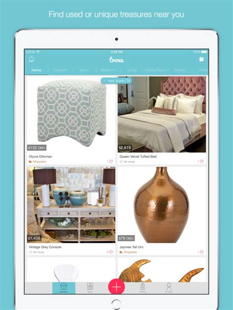 Sell Furniture Locally by Trove Marketplace Buy Sell Local Used Furniture Home