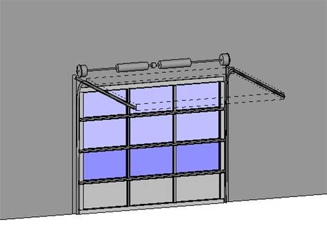 Garage Door Revit Revitcity Object Clopay Commercial Sectional Overhead Garage Door Model 903
