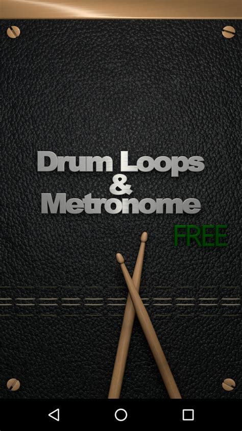 drum loops for android drum loops metronome free au appstore for android