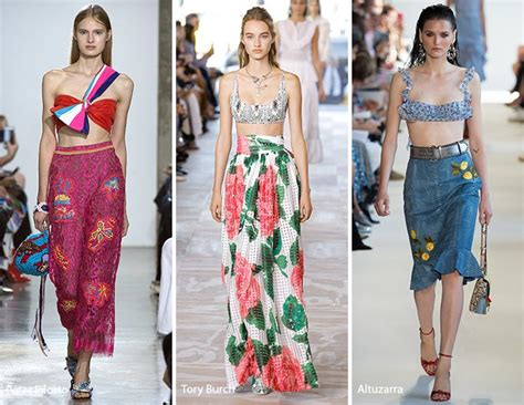Summer 08 Trends On The Catwalk by Summer 2017 Fashion Trends Fashionisers