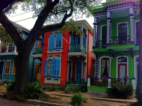 new orleans colorful houses 338 best images about colorful new orleans homes on