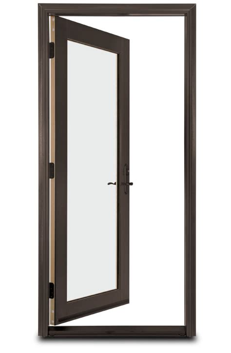 door swing in swing door