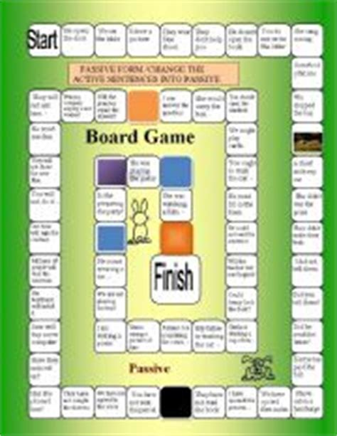 let s teach english passive voice board game english teaching worksheets verb tenses