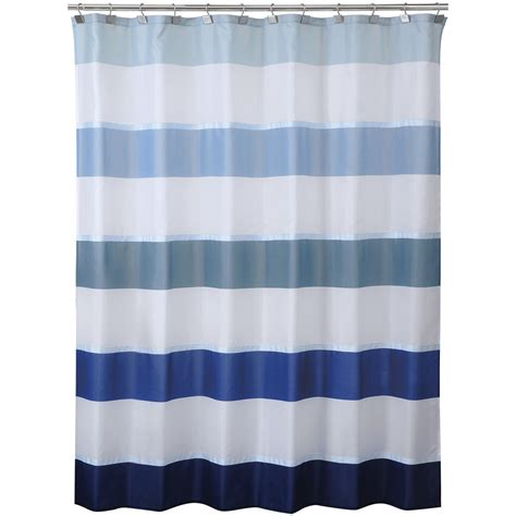 Bold Shower Curtains Cannon Shower Curtain Bold Stripe Ombre