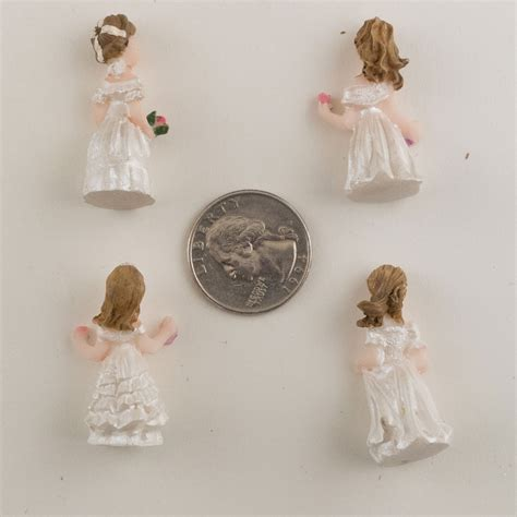 cute figurines cute tiny little girl figurine statue favors 24pcs ebay