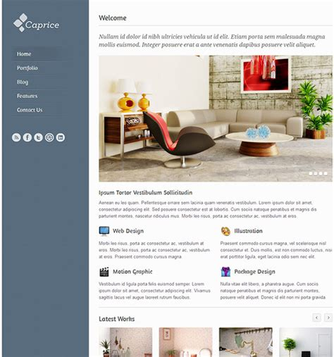 Free Conference Website Template Download Packsmixe Conference Website Template Free