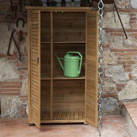 armadio legno giardino armadio da esterno 87x47x160 solido by jarsya onlywood