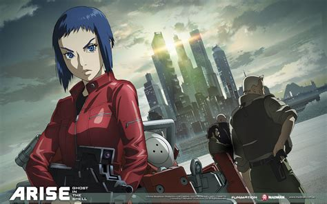 film anime ferite ghost in the shell arise lista episodi streaming e