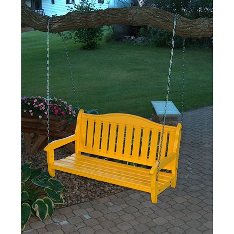 swing garden bench prairie leisure 174 garden bench swing 125098 patio