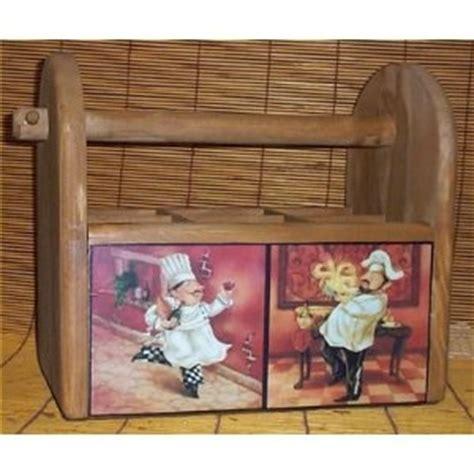 kitchen on pinterest chef kitchen decor camo and kitchens fat chef utensil holder solid wood bistro home decor 2