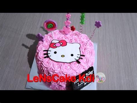 cara membuat kue ulang tahun karakter hello kitty cara membuat kue karakter doraemon universitas wira