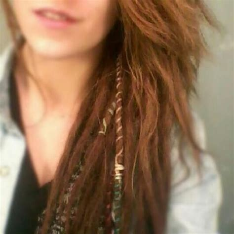 partial dreads partial single dreads rapunzel pinterest wraps