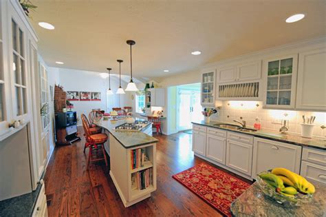 large galley kitchen galley kitchen family room remodeled into a large