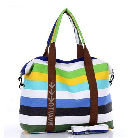 Canvas Tote Bag Dear canvas messenger bag shoulder bags top handle bags stripe tote