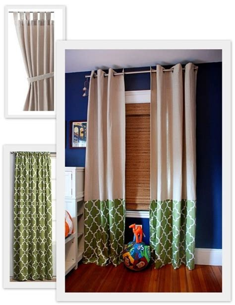 ikea curtain hack windows pinterest