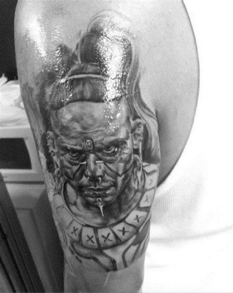 mayan warrior zero wolf from apocalypto tattoo immersion
