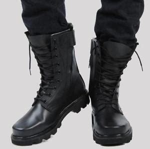 Sepatu Timberland Boot Black Army by Mens Fur Lining Special Forces Steel Toe