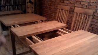 How To Extend Dining Room Table Warwick Solid Oak Table With 4 Chairs Extending Dining Room Table