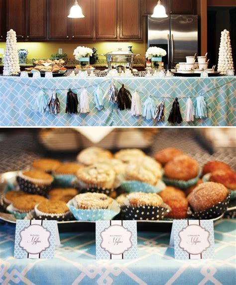 Ideas For Brunch Baby Shower by Glamorous Breakfast At S Baby Shower Hostess