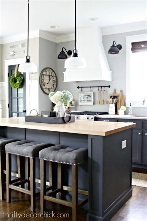 grey cabinets green walls kitchen pinterest a diy kitchen renovation update nine months later from