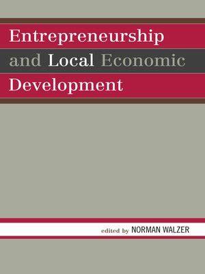 Entrepreneurship Mba Book Pdf by Entrepreneurship And Local Economic Development By Norman