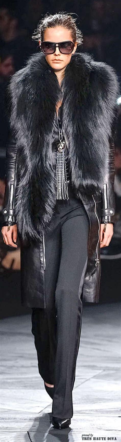 Mellan Fashion Jaket Abu milan fashion week roberto cavalli fall winter 2014 rtw decoart24 pl all black fasion
