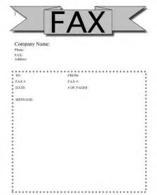 skill resume fax cover sheet template word word 2010 fax