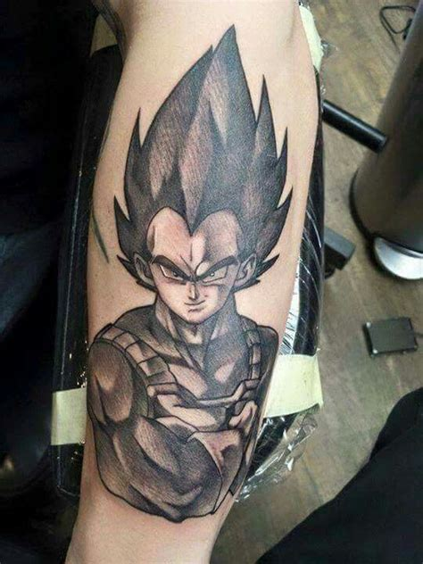 vegeta tattoo tattoos pinterest tattoo awesome