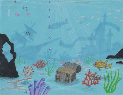 Sea Floor Drawing by Creator S How To Draw The Floor