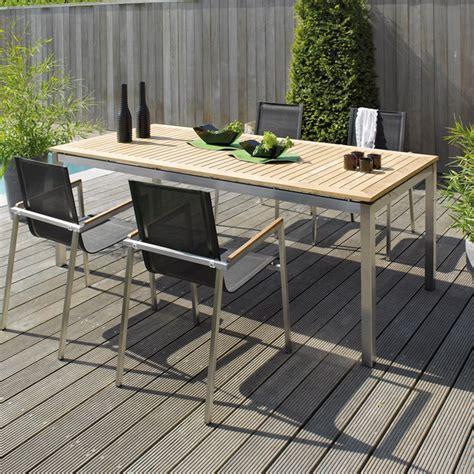 Table En Teck De Jardin