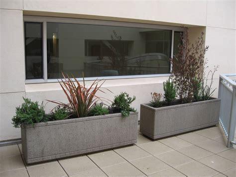mobili da balcone in plastica fioriere da balcone vasi e fioriere