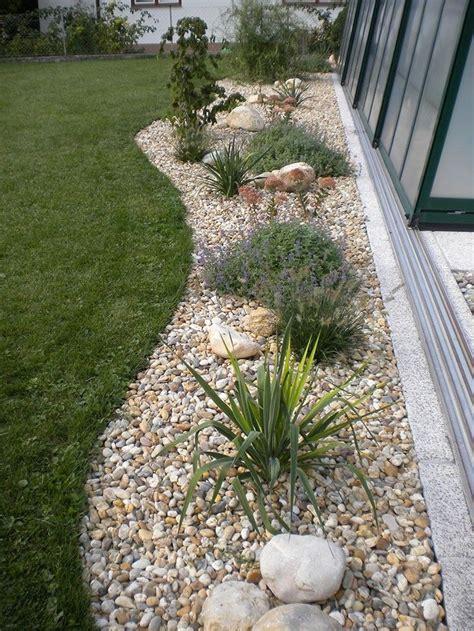 Gartengestaltung Ideen Mit Steinen by Die Besten 25 Kiesgarten Ideen Auf