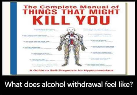 How Do You Help An Alcoholic Detox by What Does Withdrawal Feel Like Mastery