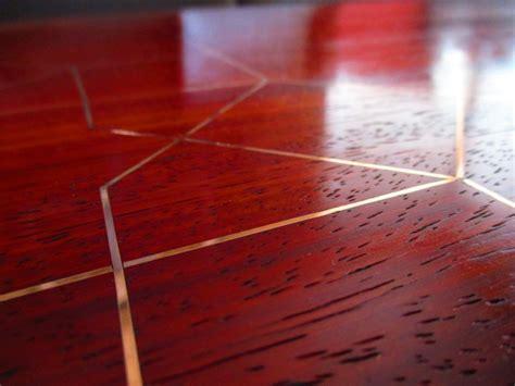 add metal inlay  wood core