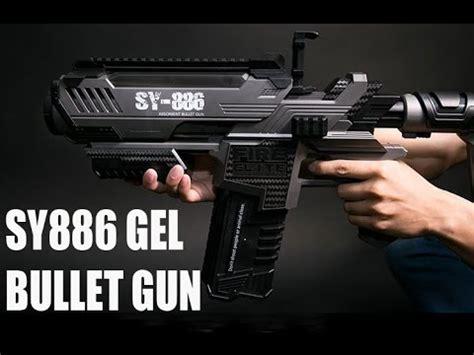 Water Gel Bullet Gun Armor powerful sy886 electric gel bullet gun