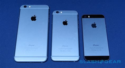 iphone plus iphone 6 and iphone 6 plus on slashgear