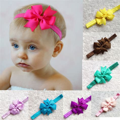 44 best baby hair accessories images on 2015 new ribbon baby bow headband hair bowknot headbands