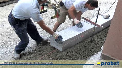 gebrochene fliesen ausbessern probst easygrip exg rabattengreifer beim setzen granit