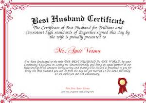 best husband certificate certificate created with
